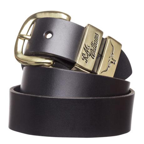 R. M. William's 3 Piece Solid Hide Belt $99.95