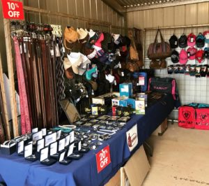 We bought a great range of belts, jewellery, belt buckles, kids toys, caps, gear bags, wallets and more!