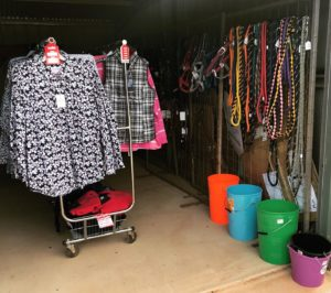 Ladies new seasons shirts, ladies winter sale clothing and saddlery items.
